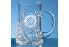 0.57ltr Lead Crystal Panel Tankard