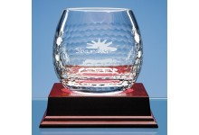 Shire Crystal Golf Ball Whisky Tumbler