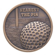 Links Series Nearest The Pin Golf Medal