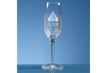 Blenheim Lead Crystal Panel Champagne Flute