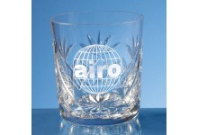 Blenheim Lead Crystal Panel Whisky Tumbler