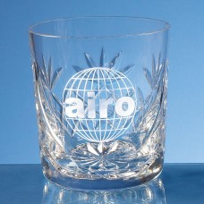 Blenheim Lead Crystal Panel Whisky Tumbler