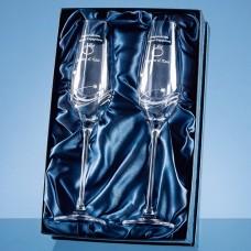 Diamante Champagne Flutes