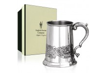 Pewter Tankard 1 Pint Celtic Style